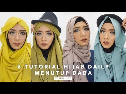 VIDEO : 6 tutorial hijab pashmina menutup dada | hijab bubble 2 meter | inivindy - karena banyak banget yang ngerequestkarena banyak banget yang ngerequesthijabmenutup dada, yang simple, aku coba bikinkarena banyak banget yang ngerequestk ...