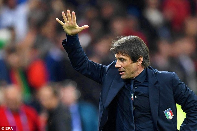 Antonio Conte, currently managing Italy at Euro 2016, will start his Chelsea career at home to West Ham