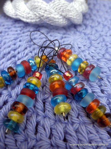 secret santa stitch markers 2010