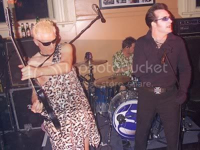 The Damned at Montey's, Knaresborough, 25/04/04