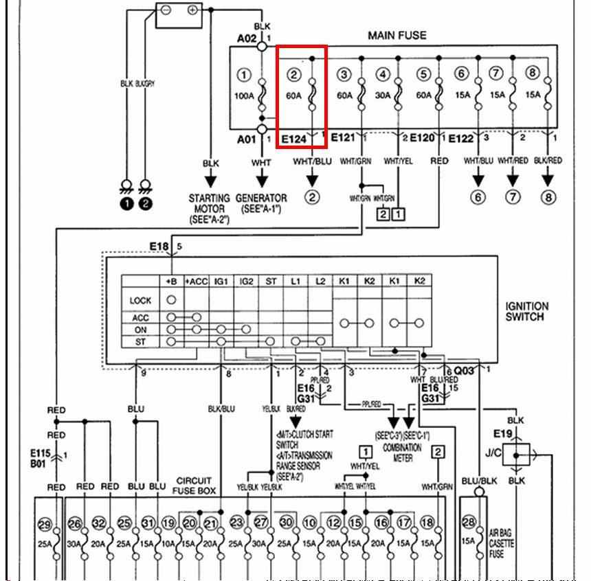 1996 Lexus Ls400 Fuse Box Diagram
