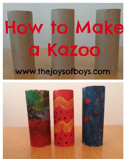 how to make a straw kazoo