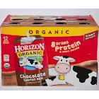 Horizon Organic Lowfat Milk, Chocolate - 12 cartons, 8 fl oz each