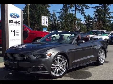 Ford Mustang Ecoboost Convertible Review