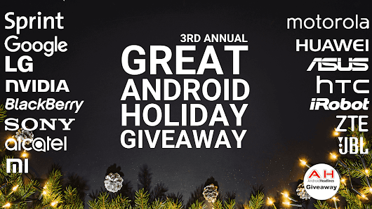 The Great Android Holiday Giveaway 2017: Over 30 Prizes To Be Won
