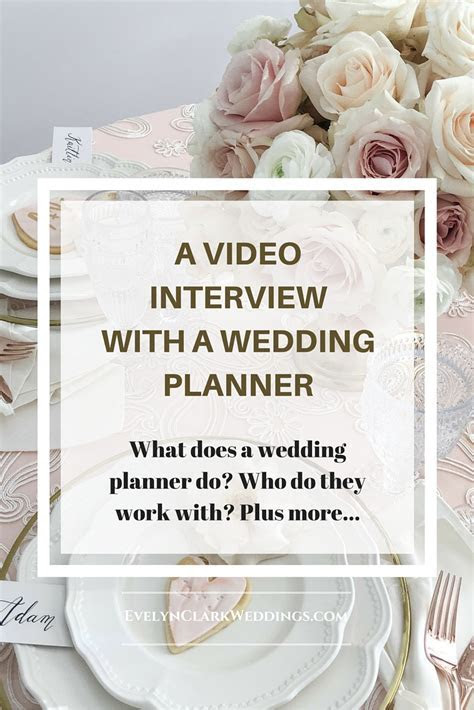 Wedding planner interview   Evelyn Clark Weddings   Calgary