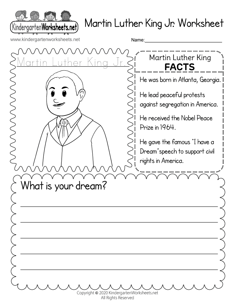 82 EASY MARTIN LUTHER KING JR COLORING PAGES FOR ...
