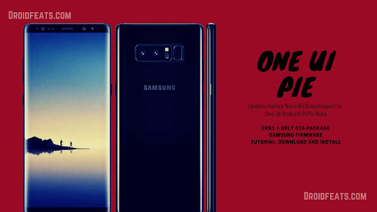 Update Galaxy Note 8 (Snapdragon) to One UI Android 9 Pie Beta Firmware | DroidFeats