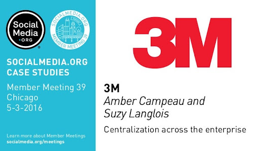 3M: Centralization across the enterprise, presented by Amber Campeau …