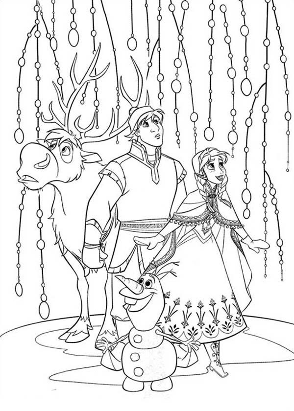 Kristoff Coloring Page At Getcolorings Com Free Printable