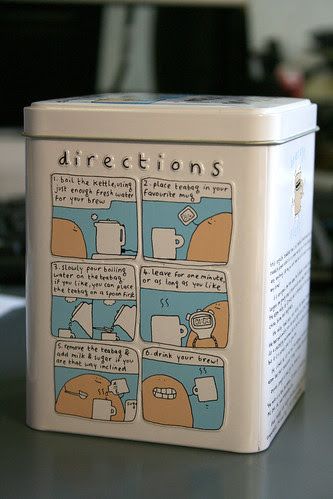 Directions for Tea Making