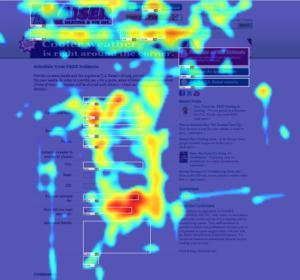 Mapa de Calor no Site