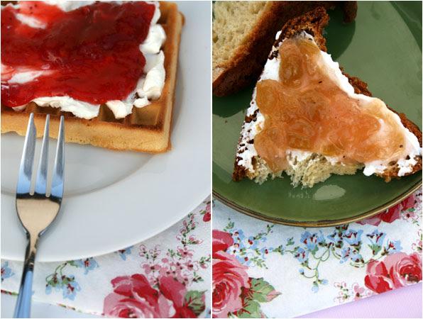 Marmellate a colazione