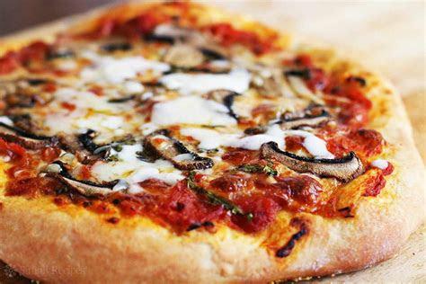 homemade pizza recipe simplyrecipescom