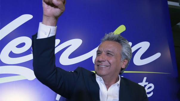 Lenín Moreno asumirá su cargo el próximo 24 de mayo.