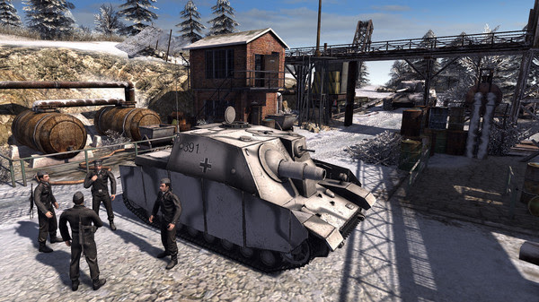 Men of War Assault Squad 2 Ostfront Vetranen Free Download