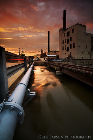 Paper Mill Sunset