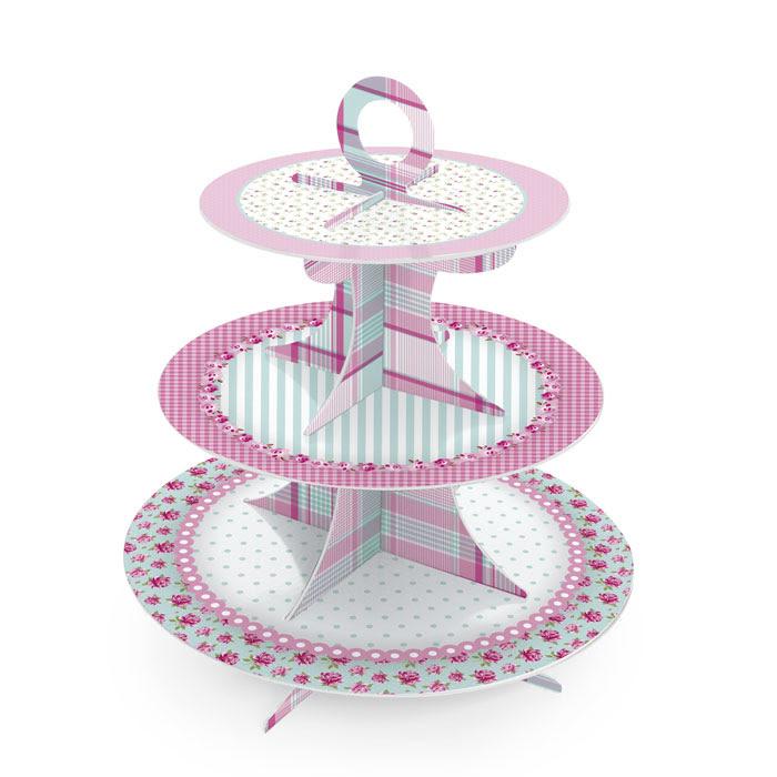 baleiro_suporte_para_doces_e_cupcake_festa_rosa_e_verde_jardim_encantado_festabox_cromus