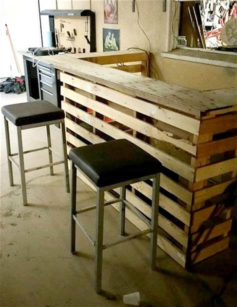 diy pallet bar pallet furniture diy