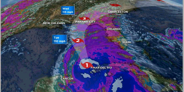 Google News   Tropical Storm Michael expected to be a hurricane