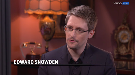 "Yahoo News on Twitter: ""EXCLUSIVE: @Snowden tells @katiecouric Petraeus disclosed info that was ""far more highly classified than I ever did""  """