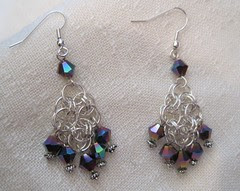 pair of helm earrings