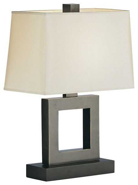 Contemporary Duncan Bronze Table Lamp - contemporary - table lamps ...