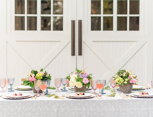 Find Your Wedding Tablescape Style - Inspired By This