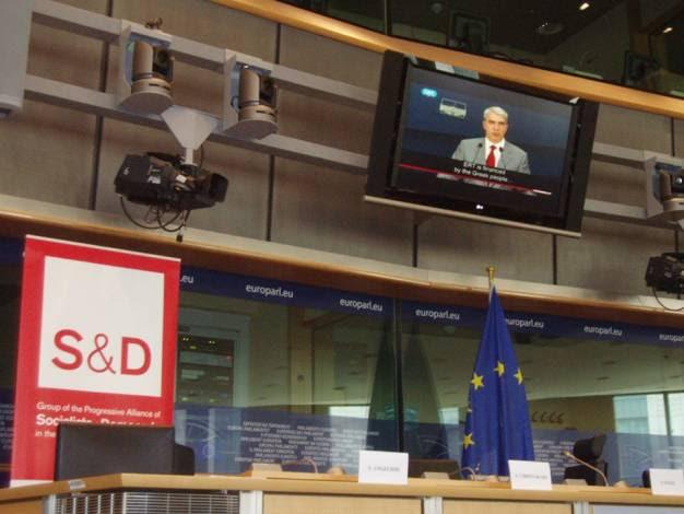 H ΕΡΤ είναι ανοιχτή και η Ευρώπη το γνωρίζει: Στο Ευρωκοινοβούλιο ο αγώνας των εργαζομένων (βίντεο)