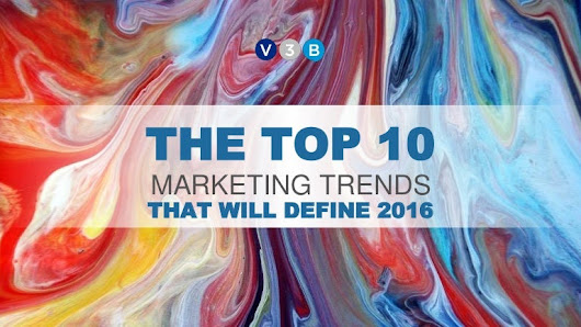 Top 10 Marketing Trends in 2016