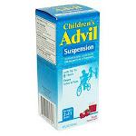 Advil Childrens Suspension Fruit Flavored Fever, Pain Reliever Liquid - 4 Oz