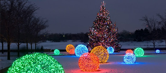 Outdoor Christmas Decorating Ideas - Christmas Lights, Etc