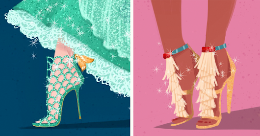 If Disney Ladies Wore Designer Shoes