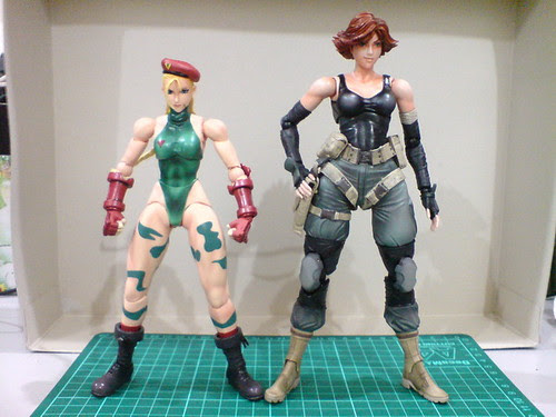Ngee Khiong Ex: Play Arts Kai Meryl Silverburgh Part 5 [Final]