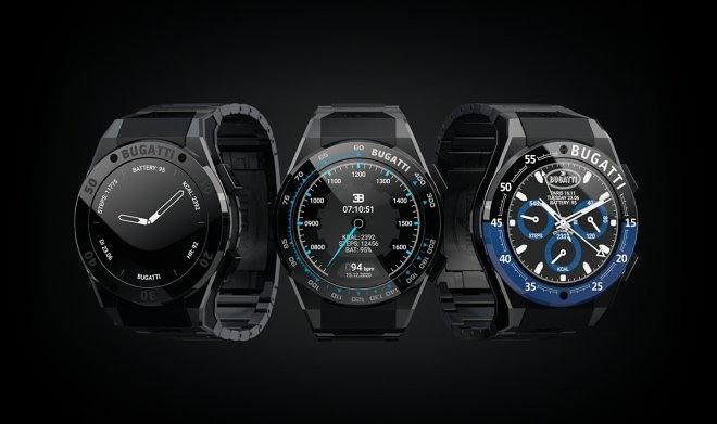 Bugatti открывает для себя мир умных часов