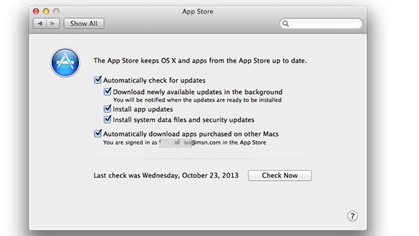 """أصبح بإمكان مستخدمي أجهزة ماك تفعيل هذه الميزة على نظام """"OS X Mavericks""""."""