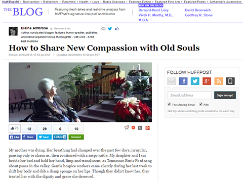 New Compassion for Old Souls - ElderCare Ready Journal