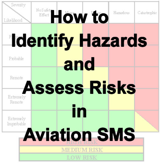 How to Identify Hazards and Assess Risks in Aviation SMS Programs