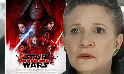 Star Wars: The Last Jedi trailer features Carrie Fisher
