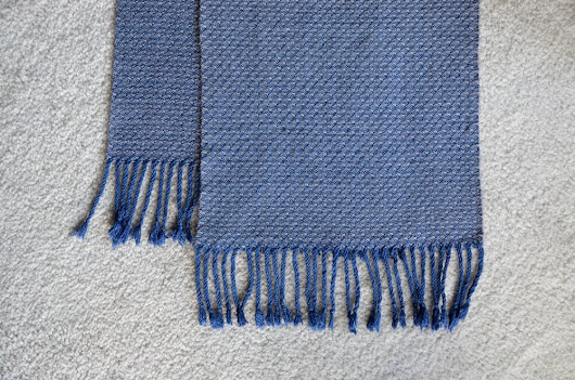 Another 8 Shaft Twill Scarf