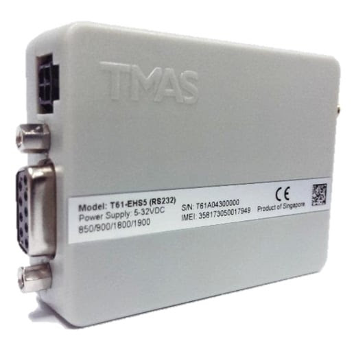 TMAS 3G GSM Modem RS232 Interface