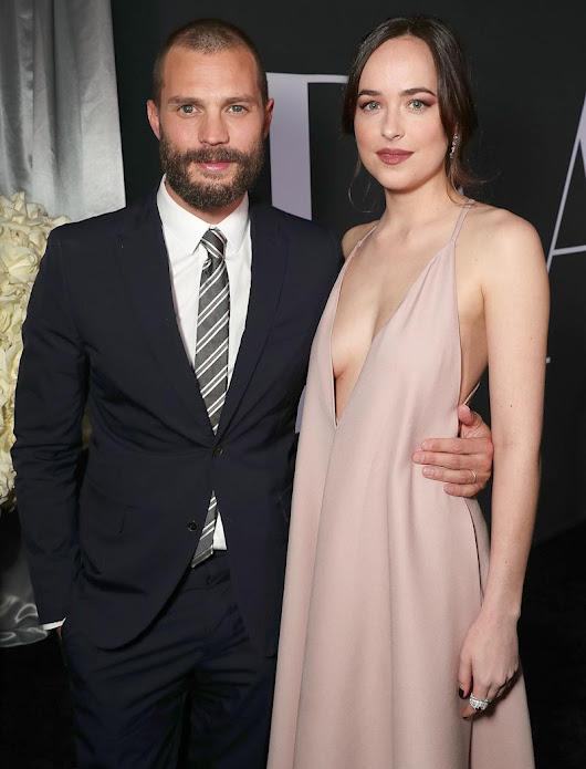 Dakota Johnson and Jamie Dornan Light Up Fifty Shades Darker Premiere: All the Details Inside the Night's Sexy Masquerade Party