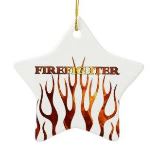 Tribal FF Flames ornament