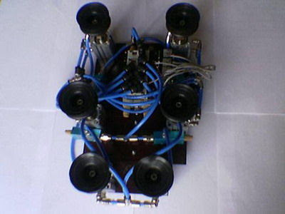 PIC16F84 Duvara Leo Cơ Robot với PICC