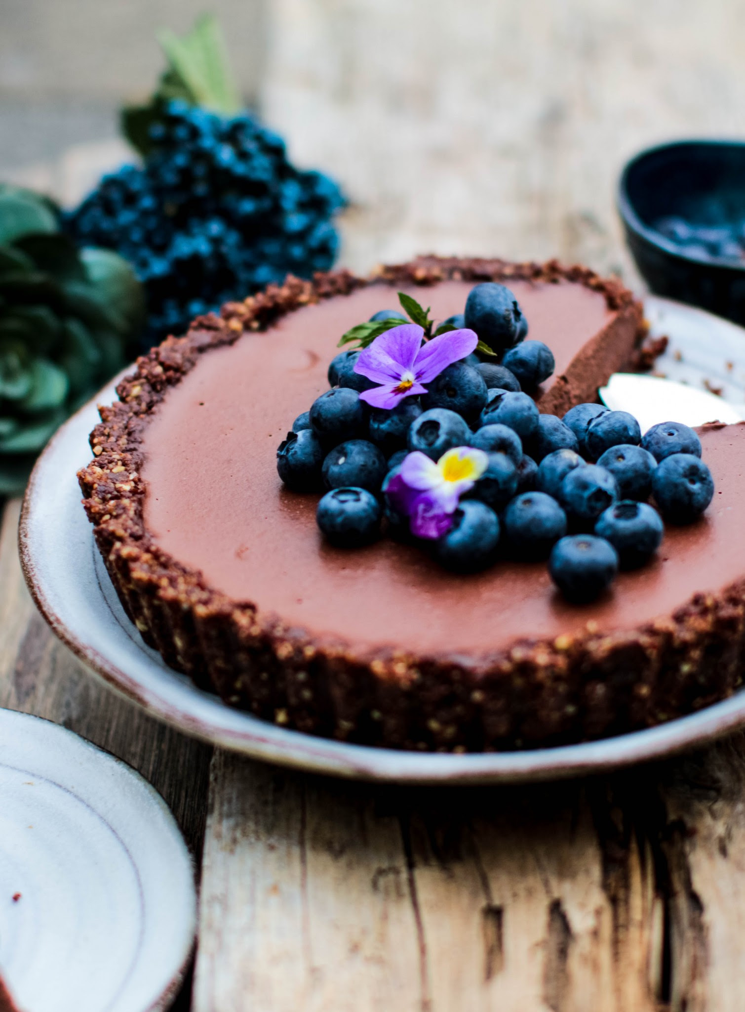 Chocolate Ganache Tart (Vegan & Gluten free) - Rebel Recipes