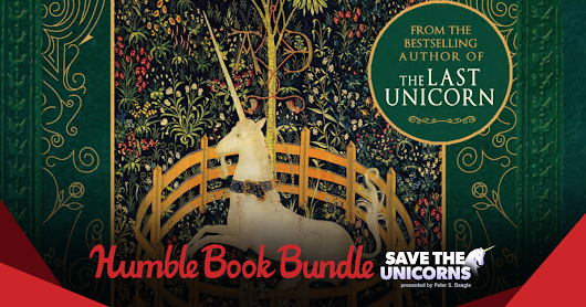 Humble Book Bundle: Save the Unicorns presented by Peter S. Beagle