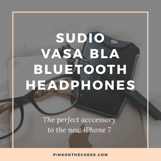 Sudio Vasa Bla Bluetooth Earbuds Review - Pink on the Cheek