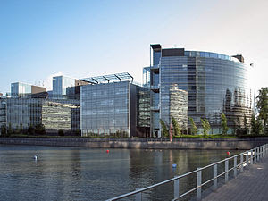 English: View of the Nokia corporate headquart...