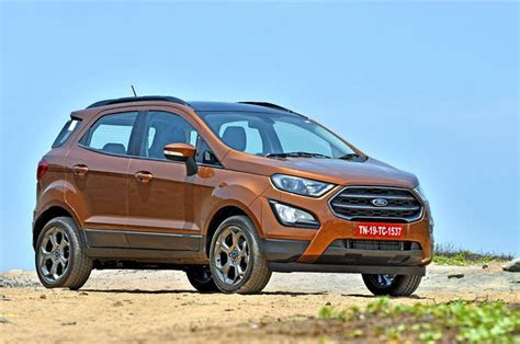 ford ecosport replacement expected   autocar india