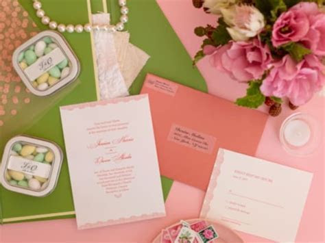Create Custom Address Labels for Your Wedding Stationery